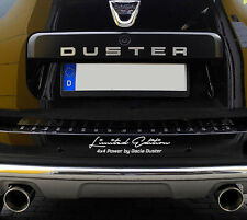Limited Edition 4x4 Power by Dacia DusterAuto Aufkleber Sticker Folie Offroad
