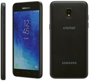 """Samsung Galaxy Amp Prime 3 Cricket Wireless Android Smartphone 5"""" Display 4G"""