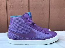 Rare Women Nike Blazer High Culture Purple Athletic Shoe Sz 5.5 375573-204