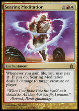 MTG SEARING MEDITATION EXC - MEDITAZIONE BRUCIANTE - RAV - MAGIC
