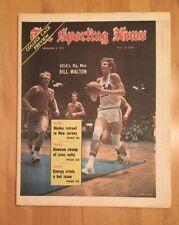 The Sporting News December 8, 1973 Bill Walton UCLA Basketball No Label