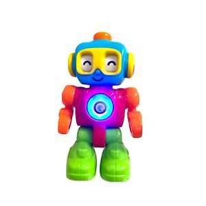 PlayGo Toddler Learning Robot Toy Rattle Interactive Sensory Sound Light Click