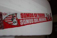 BUFANDA SEVILLA FC SOMOS DE TODOS SOMOS DEL MUNDO MUY COTIZADA   SCARF