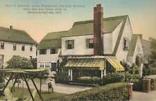 """A View Of The Pearl G. Swanton House, """"Swanton's"""", Geneva-On-The-Lake, Ohio OH"""