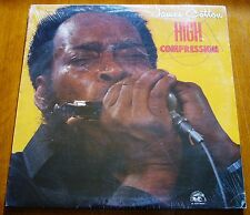JAMES COTTON High Compression (Alligator AL 4737 - USA 1984) ORIGINAL LP
