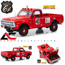 "HIGHWAY 61 18007 1:18 1969 CHEVROLET C10 BAJA 1000 #40 PICKUP TRUCK RED ""MECUM"""