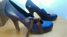 Topshop 100% Leather Mary Janes Heels for Women