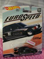 MERCEDES-BENZ 190E 2.5-16☆black;PROJECT☆2018 Hot Wheels CAR CULTURE EURO SPEED
