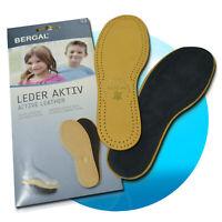 Bergal Leder Aktiv Kinder Einlegesohlen Ledersohlen Ledereinlagen Schuhe 26-34