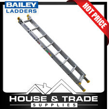 Bailey Extension Ladder Pro 2.57 to 4.09m Aluminium 8 Step 150kgs FS13897