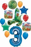 The Good Dinosaur Party Supplies 3rd Birthday Arlo and Spot Balloon Bouquet D...