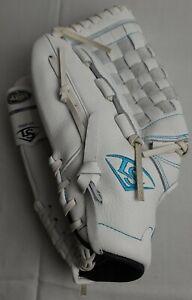 "Louisville Slugger Xeno Fast Pitch White Infield/Outfield 12"" Softball Glove"
