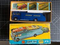 Vintage Original Corgi Gift Set no 16 Ecurie Ecosse Car Transporter and 3 cars