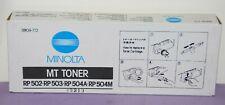 Minolta Mt Toner Rp 502-Rp 503 504A-Rp 504A-Rp 504M- 8908-772 - New