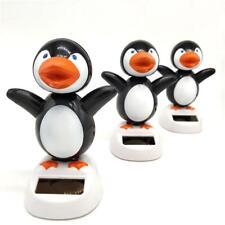 Coche Solar Pingüino figura juguete vehículo animal de balanceo bailando Muñeca Decoración