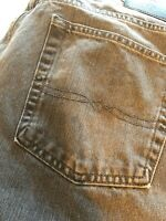 LUCKY BRAND Mens Jeans 181 Relaxed Straight Size W33 L29 Gray