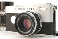 【EXC+++++】Olympus Pen FT 35mm SLR Film Camera 38mm f/1.8 100mm f/3.5 From JAPAN