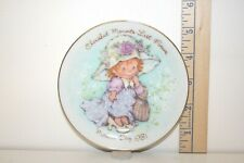 Avon Mini Collector Plate - Cherished Moments Last Forever - Mother's Day 1981