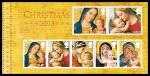 2013 GB Christmas Madonna & Child MS3549 Miniature Sheet UM MNH