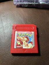 POKEMON ROT Gameboy Spiel Pokémon Rote Edition Nintendo Game Boy SPEICHERT