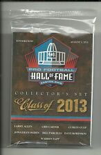 2013 Pro Football Hall of Fame Class of 2013 Factory Sealed 9-Card Set  Parcells