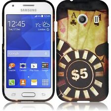 For Samsung Galaxy Ace Style S765C Stardust s766c Rubberized Design - Ace Poker