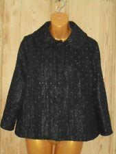 Atmosphere Black & Silver Sparkle Jacket - Size 12