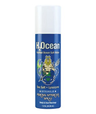 H2Ocean Body Piercing Aftercare Supply Natural First Aid 1.5 Oz Sea Salt Spray