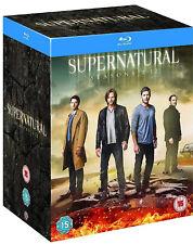 SUPERNATURAL COMPLETE SERIES COLLECTION 1-12 BLU RAY Season Jensen UK New R2
