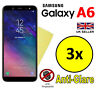 3x HQ MATTE ANTI GLARE SCREEN PROTECTOR COVER FILM GUARD SAMSUNG GALAXY A6