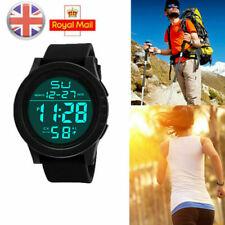 Reloj de pulsera LED Digital Reloj de Cuarzo de Moda Militar Deportivo Para Hombre resistente al agua