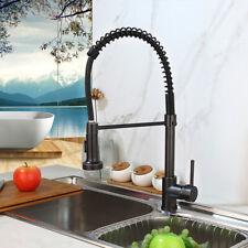 Single Handle Kitchen Faucet Swivel Spout Pull Down Sprayer Bar Sink Mixer Tap