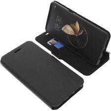 Tasche für Archos Diamond Gamma Smartphone Book-Style Schutz Hülle Buch Schwarz