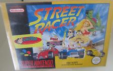 Street Racer (Nintendo SNES) PAL OVP/Modul/Anleitung