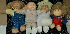Vintage Cabbage Patch Kids Dolls Lot Of 4 & Extra outfits