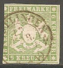 Wurttemberg Used Stamps