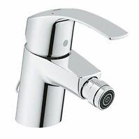 Grohe Eurosmart 32929001 - Hygiene Bidet Mixer Tap, Pop-up Waste, Flex hoses