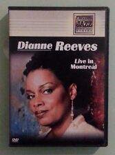 DIANNE REEVES LIVE IN MONTREAL     DVD