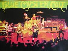 BLUE OYSTER CULT - 1985 CONCERT TOUR PROGRAMME