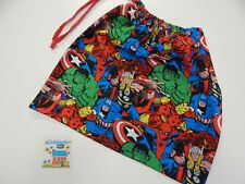Library Bag Marvel Avengers Drawstring Tote Books Swimming Sleepover