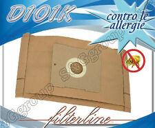 D101K 8 sacchetti filtro carta x De Longhi Darel Q712Z