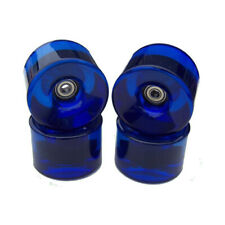 76mm LONGBOARD Wheels BLUE + BEARINGS