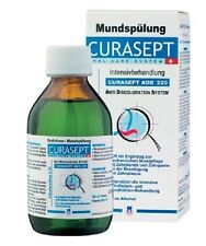 Curaprox Curasept ADS 220 Chlorhexidine 0.2% Oral Rinse Mouthwash Sores Ulcers
