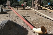 12 Foot Long Swiss Alphorn--Key of F--Solid Spruce--3 Piece--Made by Heimatklang