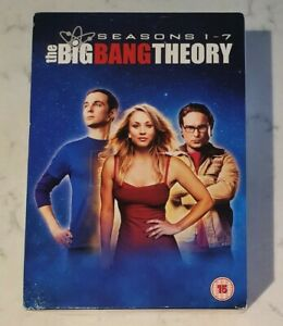 The Big Bang Theory Seasons 1-7 (DVD, 2014) Region 2