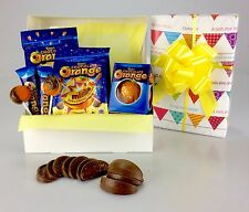 Deluxe Terrys CHOCOLATE ORANGE Wrapped Hamper Birthday Get Well Christmas Terry'