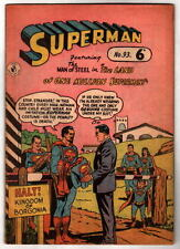 Australian SUPERMAN 93 DC Comics 1950's UK