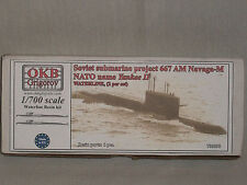 OKB Grigorov 1/700 Resin Soviet Sub Project 667 AM Navaga-M, NATO Name Yankee II