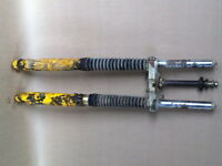 Suzuki PE250 PE 250 Front Suspension Forks