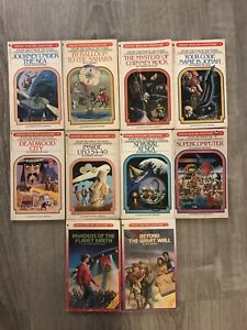 Choose Your Own Adventure vintage lot x 10 game books CYOA